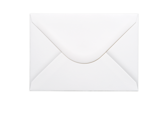 C5 white envelope