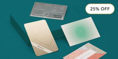 Business Cards with special finishes