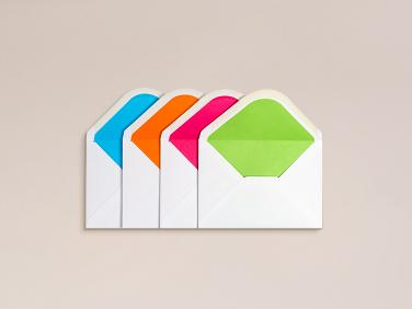 Small ColorSplash Envelopes