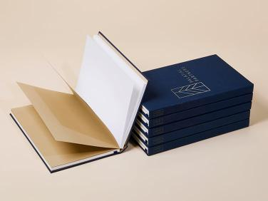 Custom Cloth Hardcover Notebook