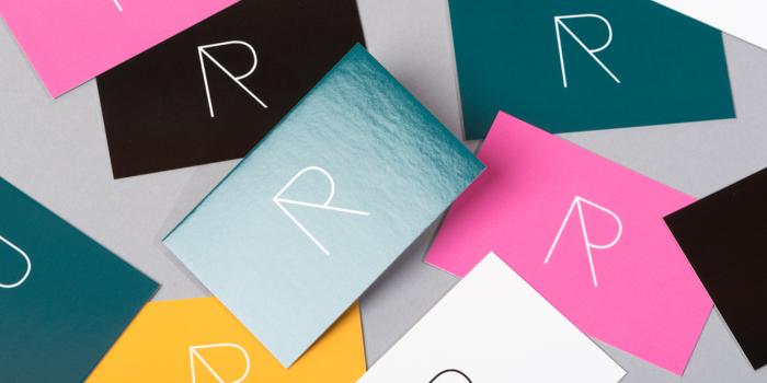 Roope Sirola's Super Business Cards showing his logo