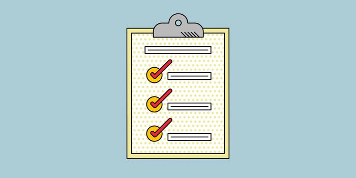 Clipboard Ticks Illustration