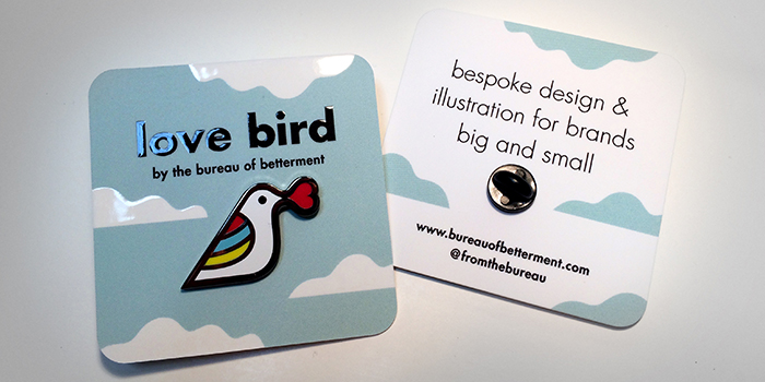 Pretty pins meet beautiful business cards MOO Blog