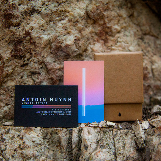 Antoin Huynh cotton business cards