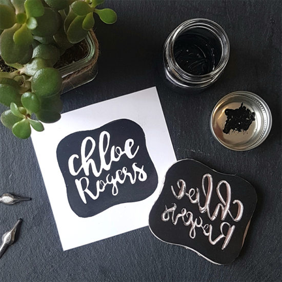 Chloe Rogers cotton business card