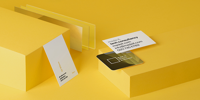 Strong business cards