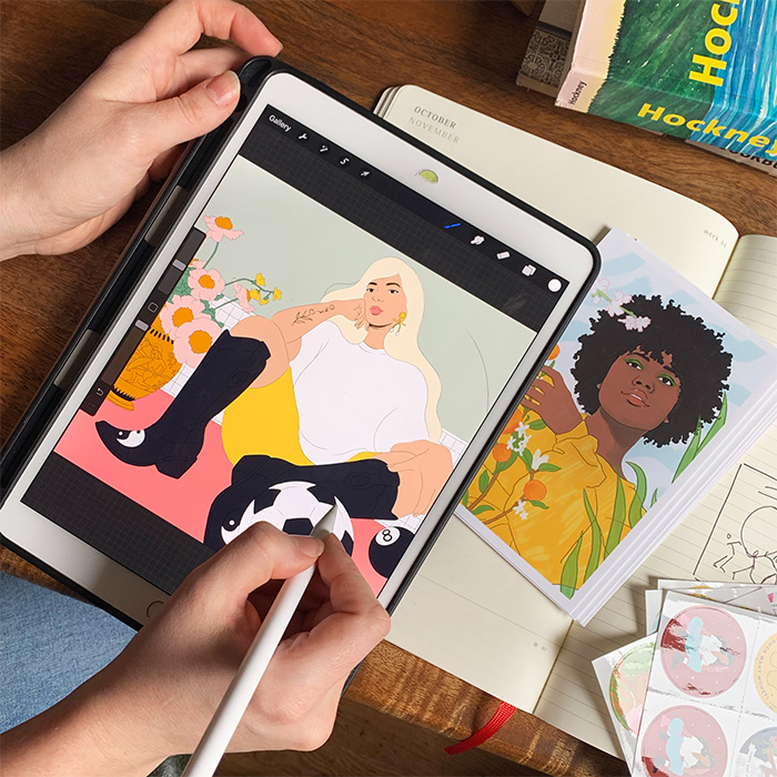Louisa Cannell's illustrations are a celebration of strong