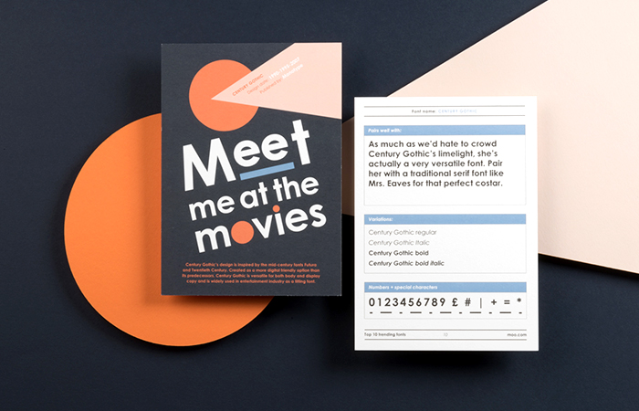 Fonts for printing Business Cards