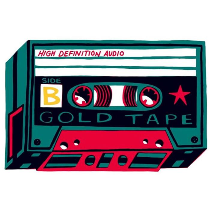Charlie Gould cassette design