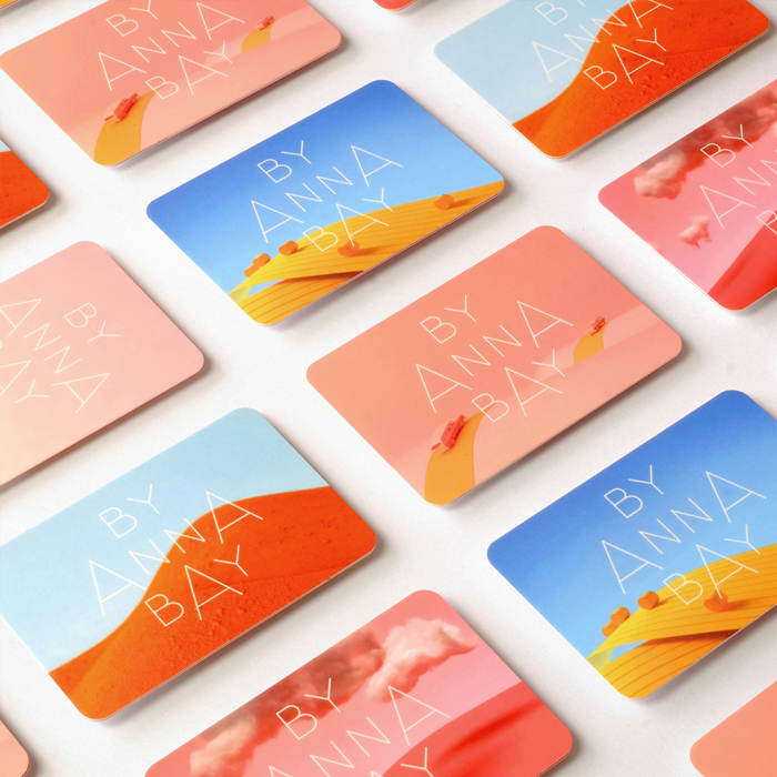 Mosaic of Anna Bay Business Cards