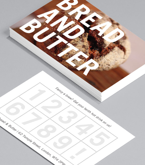 Carte de Fidélité Bread and Butter