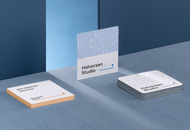 Luxe Square Business Cards from MOO