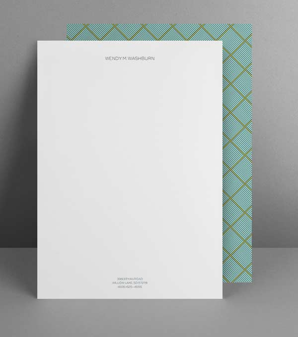 Print Perfection Letterhead Design