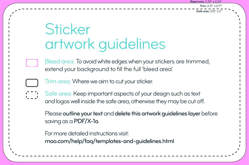 custom rectangular stickers labels moo us