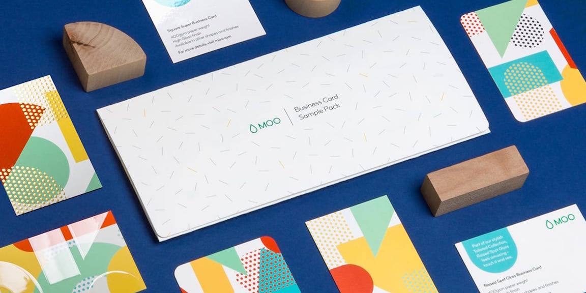 Business Card Sample Pack