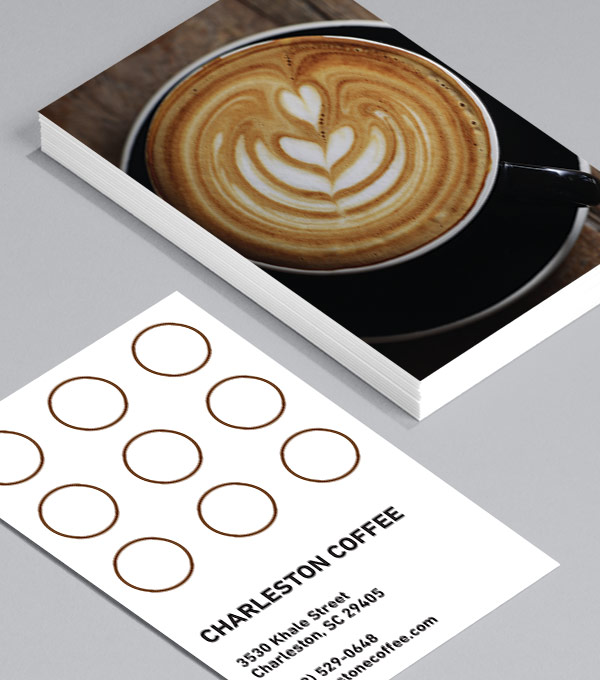 For The Love Of Froth Loyalty Card