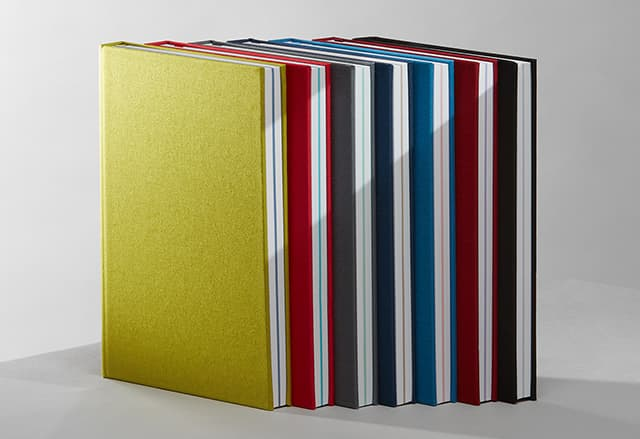 Hardcover notebooks from MOO