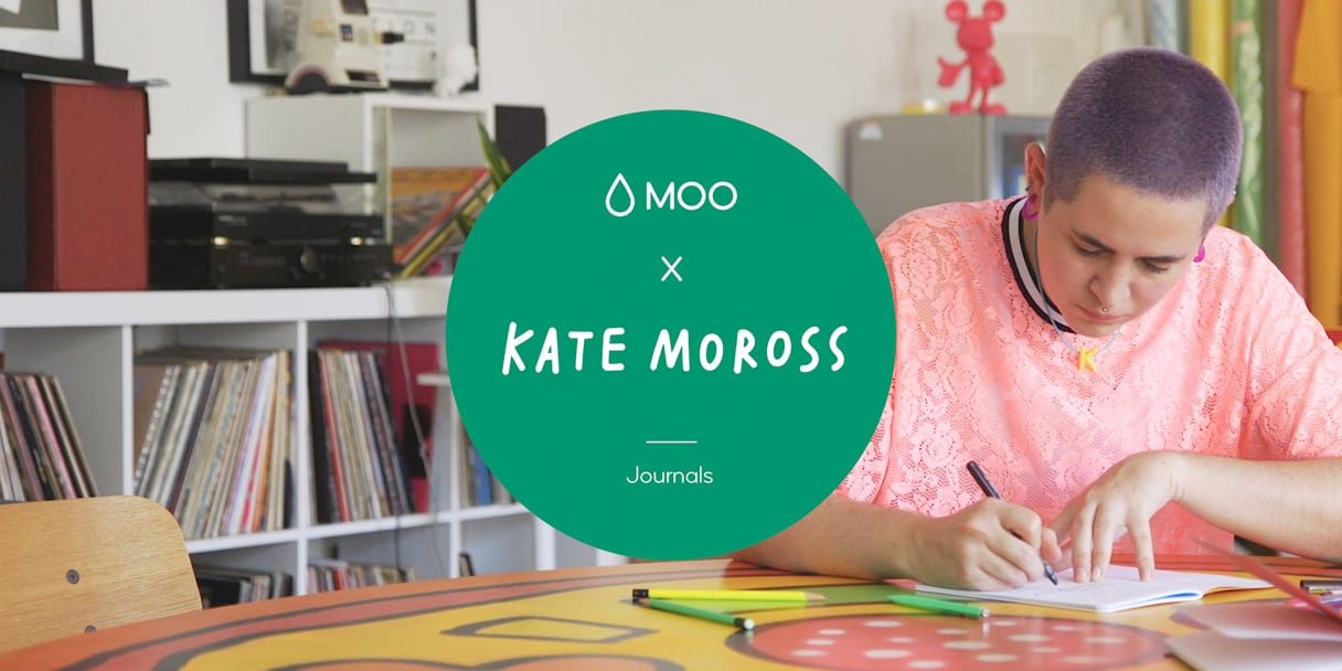 Limited edition journals from Kate Moross