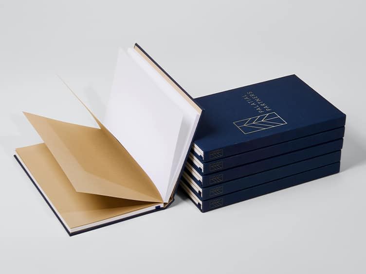 Notebook Hardcover in tessuto