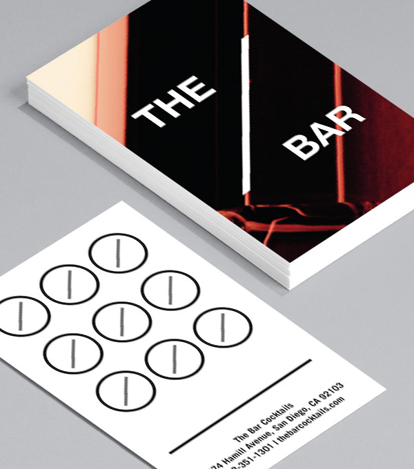 The Bar Loyalty Card