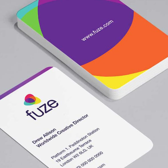Printing services for business and enterprise moo business fuze card reheart Image collections