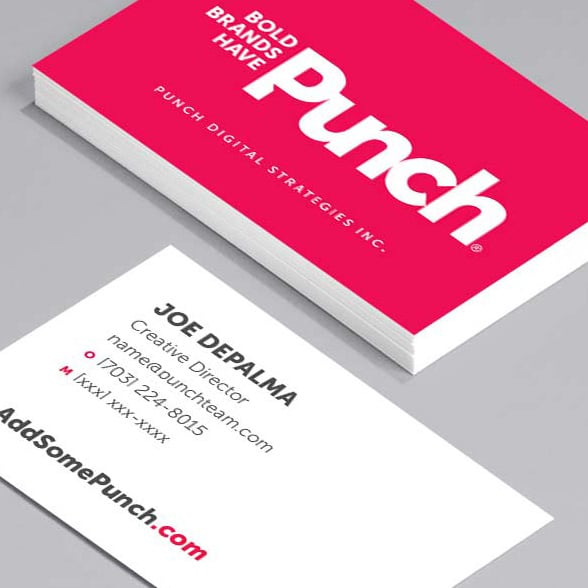 Business card printing moo for bigger businesses moo canada punch card reheart Image collections