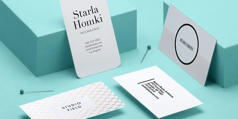Standard Size Business Card Us Size Business Cards Moo Us