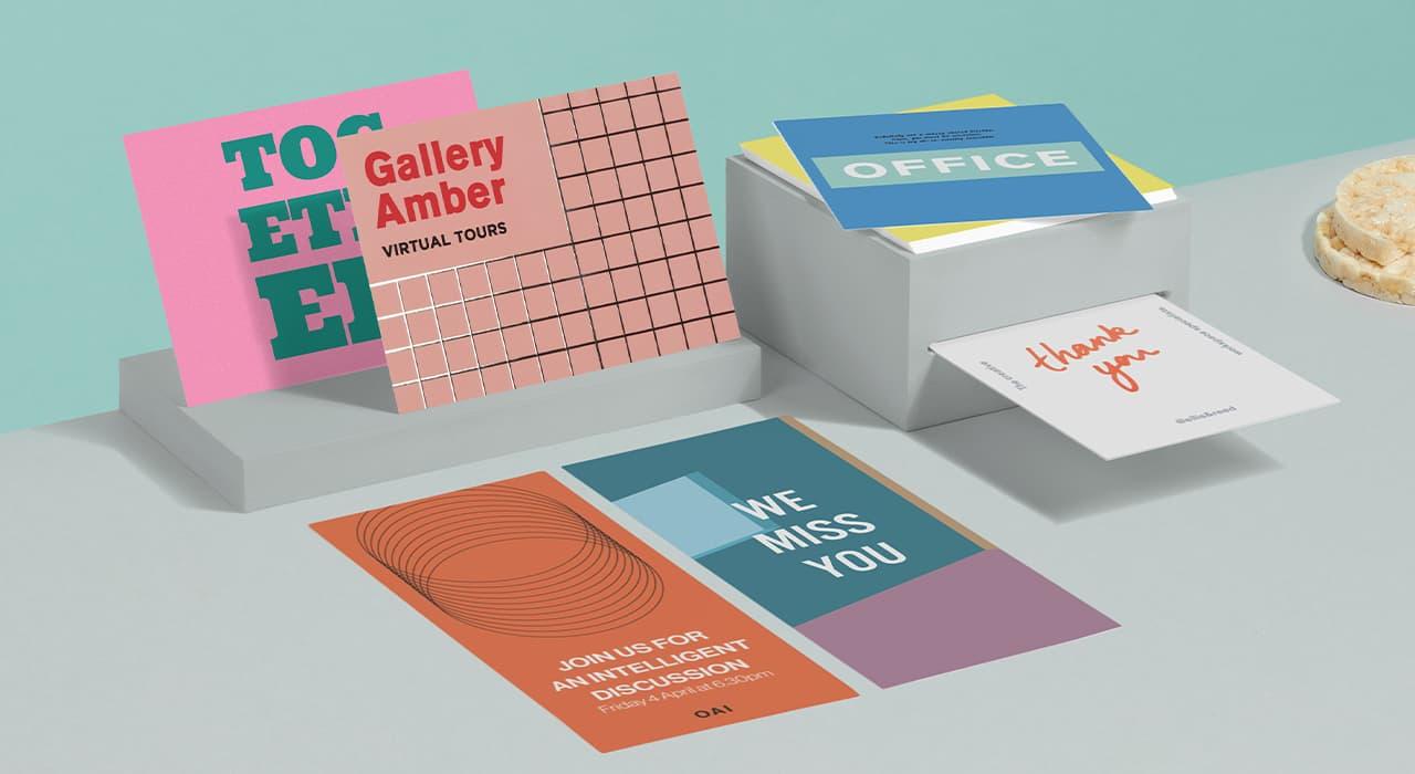 LOVE Postcard Prints Set