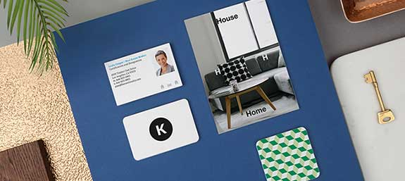 The MOO Blog MOO Products Business Cards – Simple Listing Words