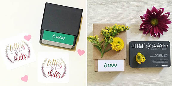 The MOO Blog | Letters By Shells and Oh Mai Art Creations