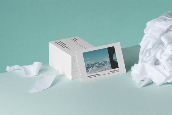 The MOO Blog | New Cotton Business Cards