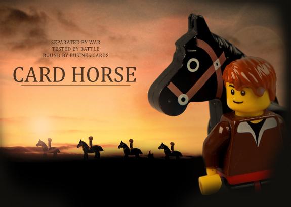 MOO LEGO Horse