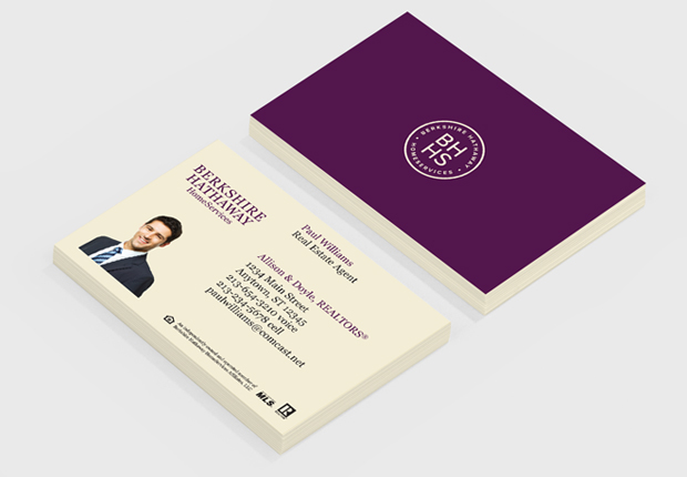 Moo business cards business cards for berkshire hathaway affiliate business cards as a berkshire hathaway colourmoves