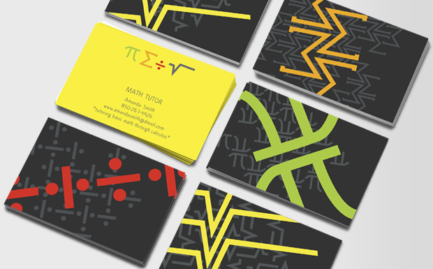 Teacher Business Cards | Business Card for Teaching & Training ...