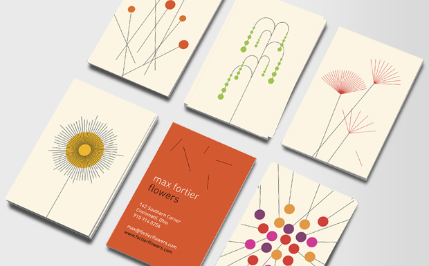 floral business cards