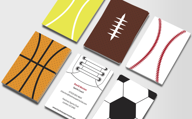 Business Cards For Health Fitness Instructors