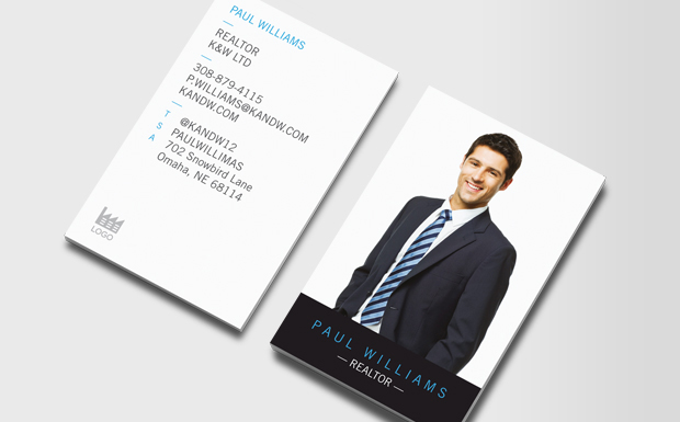 real estate business cards - Photo Business Cards