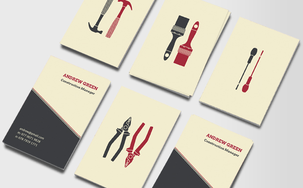 DIY Business Cards | Business Card for Handyman & Tradesmen | MOO ...