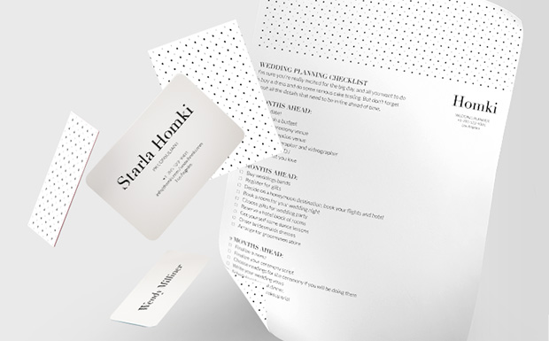 Business Cards for Wedding, Event & Party Planners