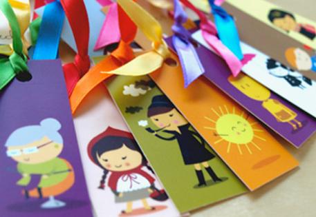 MiniCard bookmarks by Fashion Fuschia
