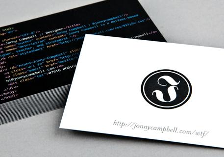 Jonny Campbell's Cards