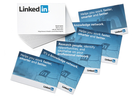 LinkedIn Business Cards