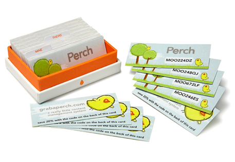 Promo Code MiniCards by Perch