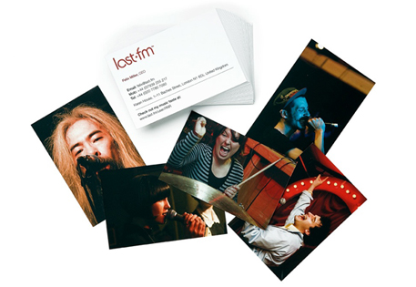 Business Cards by Last FM