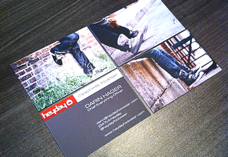 Business Cards by Heyday Footwear