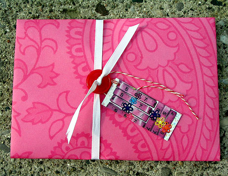 Use MOO MiniCards as gift tags for an extra creative flourish