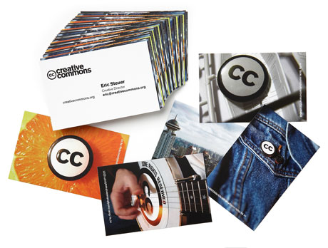Creative Commons use images from Flickr to always have a different image on every MOO Busines Card