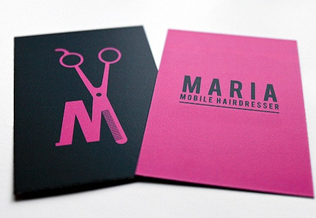 Hairdresser Business Cards by Neil J Rook