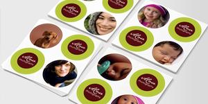 Sticky Logos