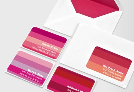 Branded Mailing Labels MOO United Kingdom